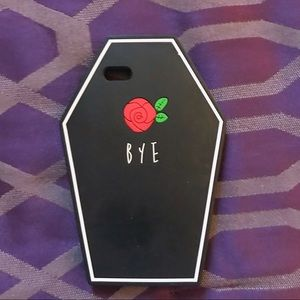 "Cute ""Bye"" Grave IPhone Case"